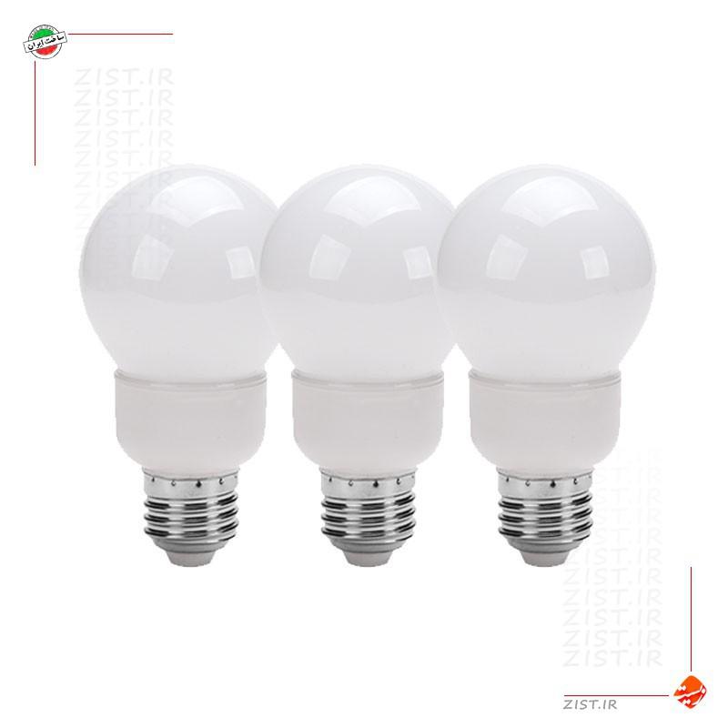 بسته 10عددی لامپ ال ای دی تزئینی 1 وات حبابدار هفت رنگ