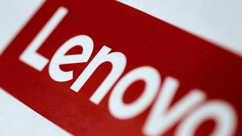 Red And White Lenovo Logo