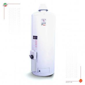 آبگرمکن گازی ۵۰ لیتری گرمان گاز الکترواستیل استوانه ای دیواری زودجوش