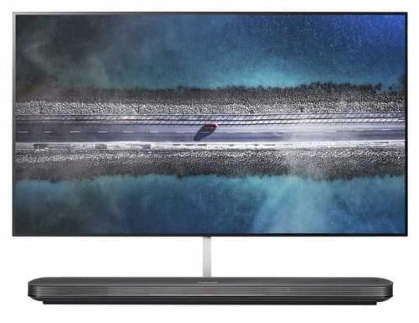 LG W9 تصویر زمینه تلویزیون
